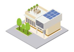 Autarkes Haus Solar